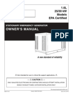 Eaton's 25kw & 30kw Owner's Manual Nexus