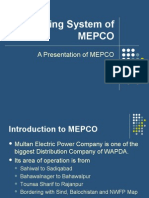 Billing System of MEPCO by Iqrash Awan