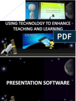 Using Technology to Enhance Teaching and Learning