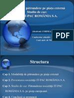 Strategii de pătrundere pe piaţa externă