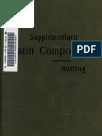 Supplementary Latin Composition
