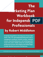 Marketing Plan for Professionals - Workbook