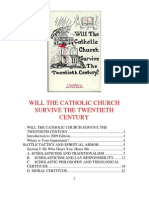 Will the Catholic Church Survive the Twentieth Century