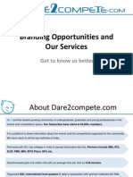 Dare2compete.com Services - Get to Know Us