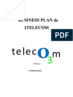 Business Plan de 3 Telecom