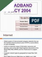 Broadband Policy