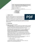Facilities Management Procedures