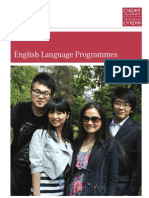 English Language Programmes Brochure[1]