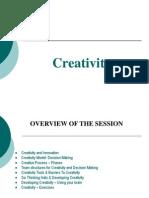 Creativity Presentation1- Revised