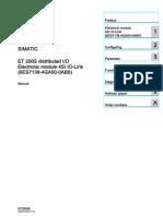 Et200s 4io Link Modul Manual en-US en-US