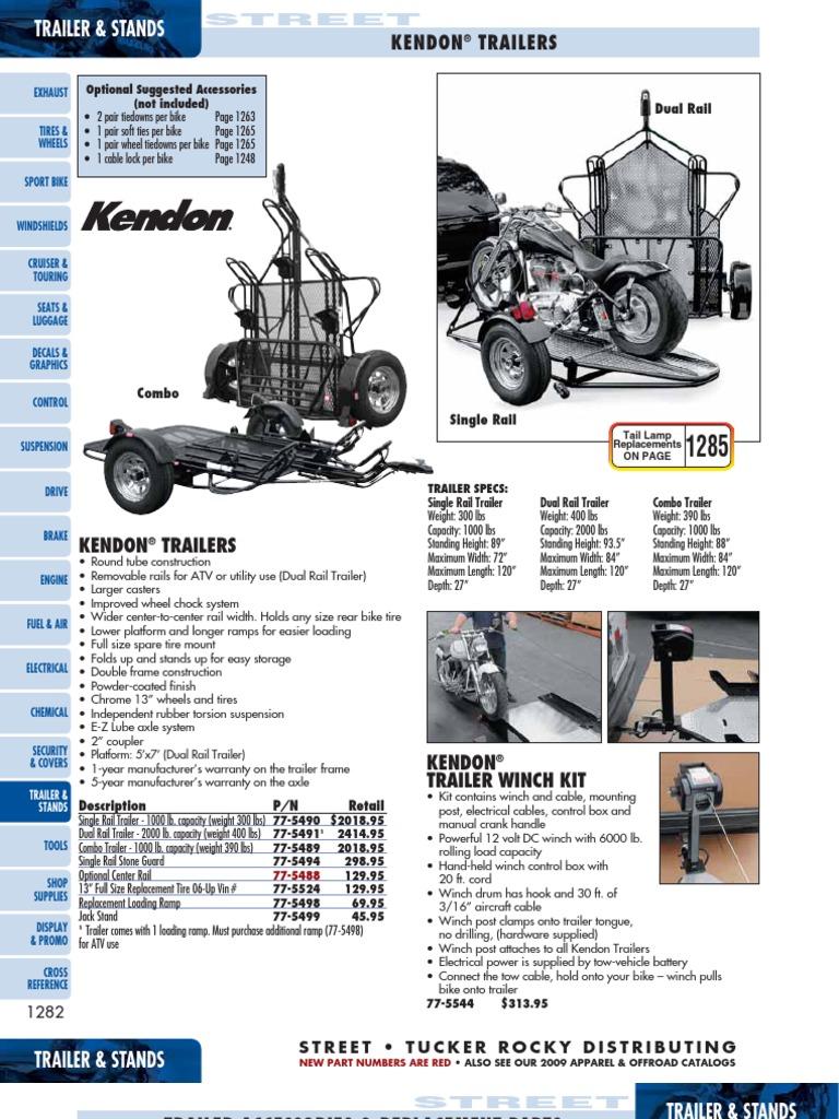 18 09st trailerstands 1282 1306 trailer vehicle motorcycle rh scribd com