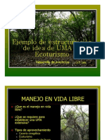 Ejemplo Proyecto UMA Ecoturismo