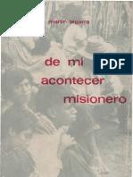 Legarra, Martin - De Mi Acontecer Misionero 01