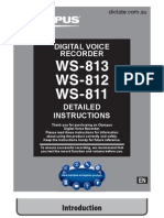 Dictate Ws811 Ws812 Ws813