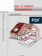 Choisir Et Realiser Les Fondations