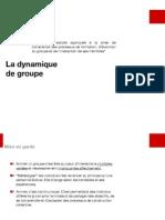 Dynamique de Groupe CRES