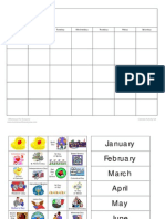 Calendar Activity Set