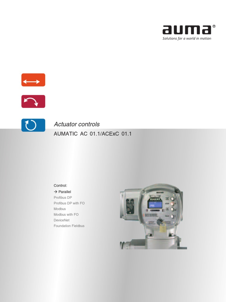 Auma Ac 01 2 Wiring Diagram Free Download Ac012 Aumatic 1 Acexc Parallel Operation And Setting Safety