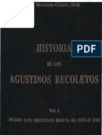 Martinez Cuesta, Angel - Historia de Los Agustinos Recoletos