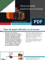 Tipos de Papel Usados en El Envase