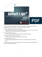 Wavelab 5.0 Manual