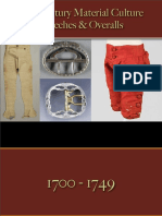 Clothing - Male - Breeches & Overalls