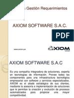 Gestion Requerimientos Axiom Software