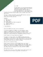 DCOM95 1.3 Release Notes