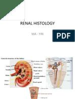 Ma - 5. Renal Histology - Yin