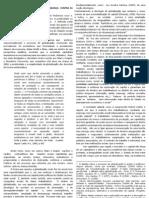 GLOBALIZAÇÃO TESTES EDIFICAÇÕES CETEP