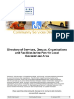 CommunityServicesDirectory Penrith