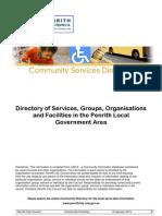 CommunityServicesDirectory Penrith