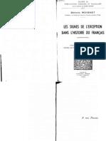 [Gerard Moignet] Les Signes de l'Exception Dans l'(BookFi.org)