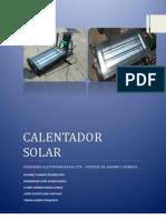 Calentador Solar Reporte