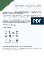 1 Astrological Signs Symbols