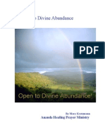 Opening to Divine Abundance, by Mary Kretzmann