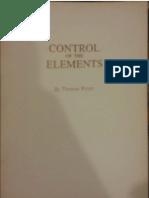 Control of the Elements - Thomas Printz