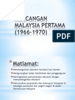 Rancangan Malaysia Pertama (1966-1970)