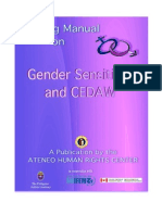 Gender Module - Training Manual