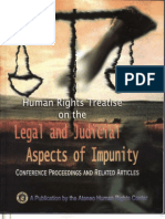 Human Rights Treaties Legal and Judicial Aspects of Impunity