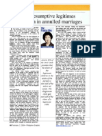 Presumptive Legitimes of Children in Annulled Marriages ArticleConvert.feb.2.2004