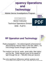 Radio Frequency Operations