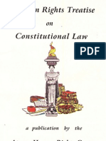 Human Rights Treatise on Constitutional Law