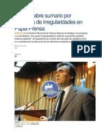 La CNV Abre Sumario Por Denuncia de Irregularidades en Papel Prensa