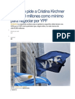 Repsol Le Pide a Cristina Kirchner