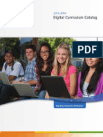 APEX Digital Curriculum Catalog 2013-14