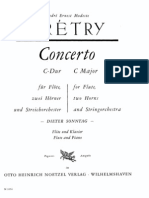 Gretry. Concerto C Major