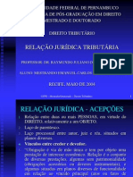 RELA€_O JUR_DICA TRIBUT_RIA - SEMIN_RIO DISCIPLINA D. TRIBUT_RIO SA