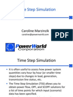 PowerWorld Time Step Simulation Tool