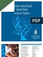 Hartwick Music Dept Brochure 2011(0)